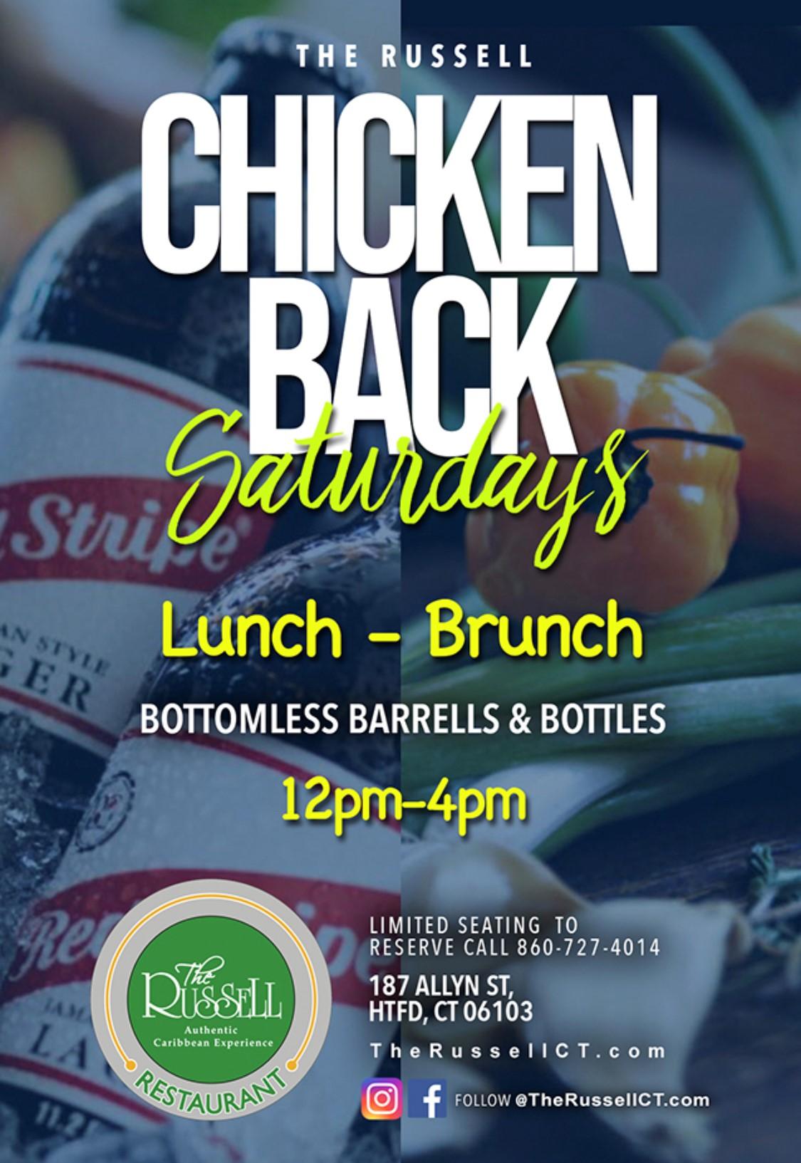 Chicken Back Saturdays