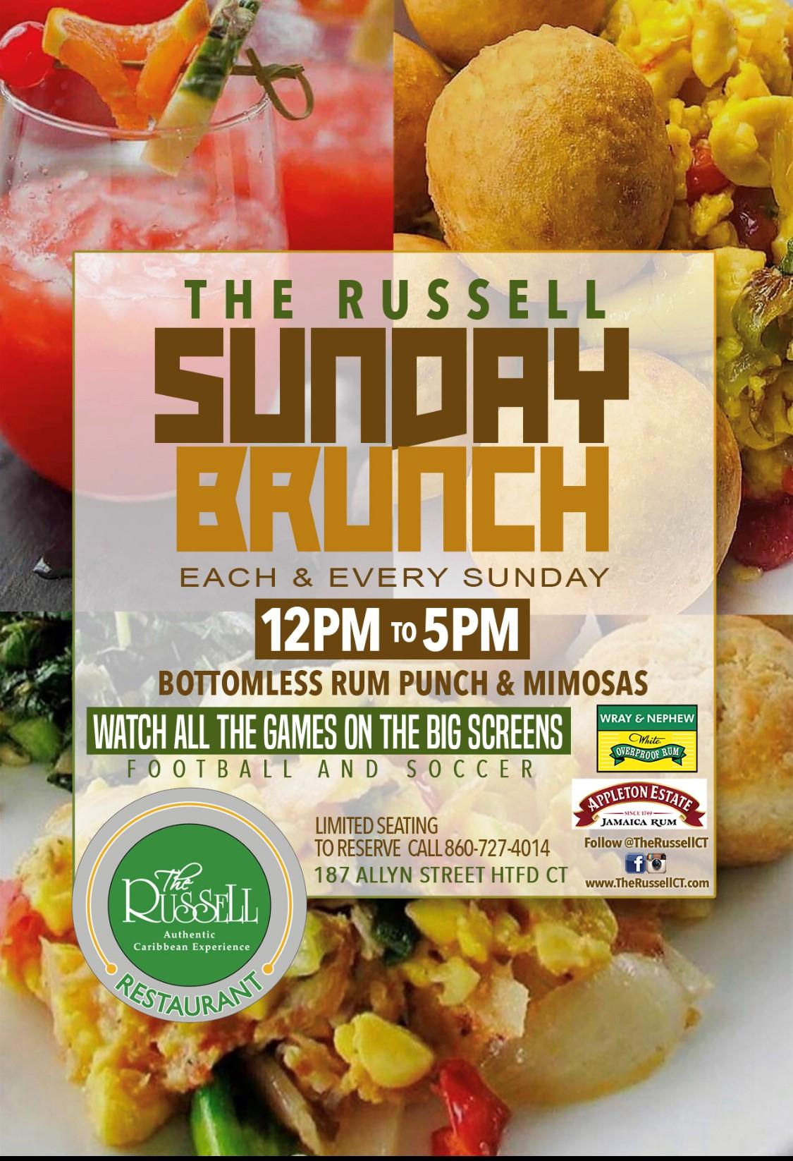 Sunday Brunch Flyer